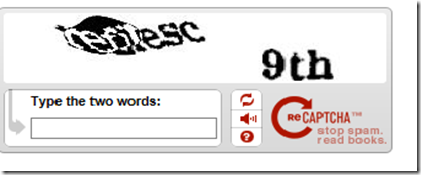 Blogs from Kiran Badi » reCaptcha's,Simple Captcha